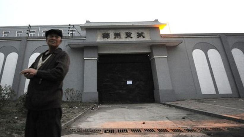 Das Gefängnis von Jinzhou in der chinesischen Provoinz Liaoning