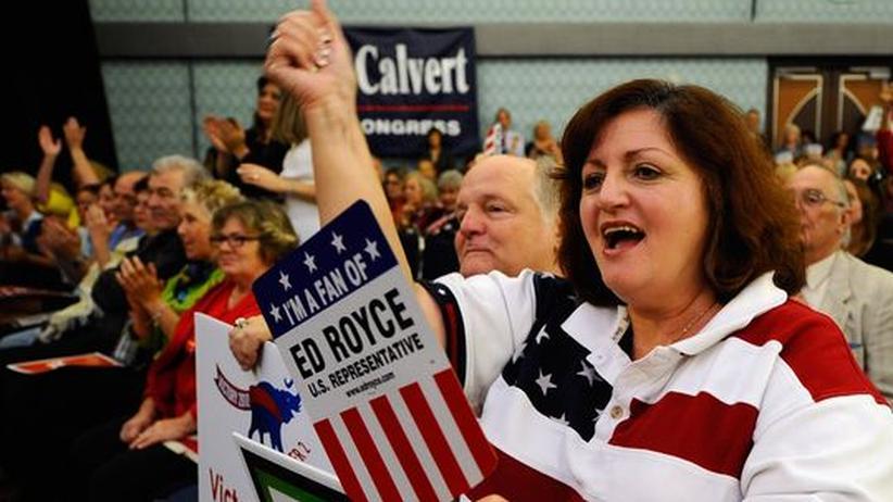 USA: Spendenflut für Republikaner vor Kongresswahl
