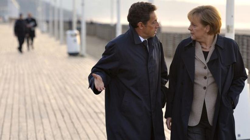 Stabilitätspakt: Merkel und Sarkozy stoßen in EU auf Widerstand