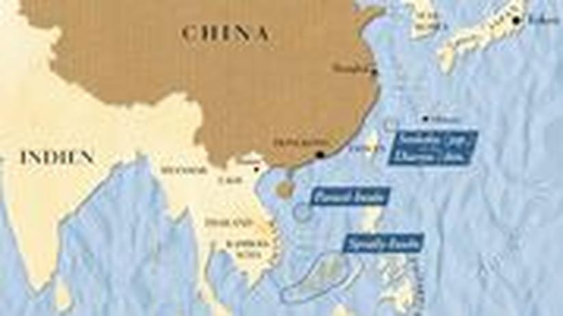 Südchina-Karte