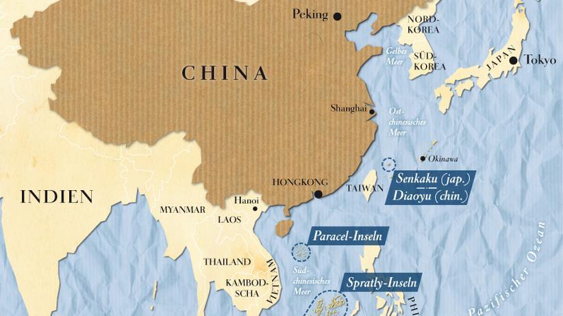 China und Japan: Machtkampf zur See