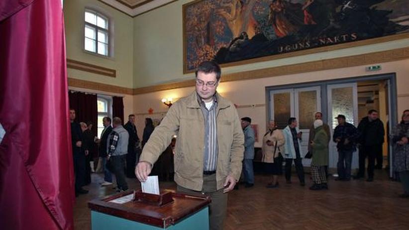 Parlamentswahl: Lettlands Wähler bestätigen Regierung