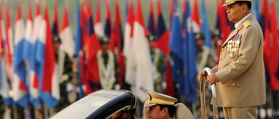 Birmas oberster Herrscher General Than Shwe