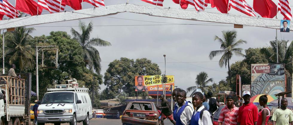 Vor dem Besuch von Pekings Staats- und Parteichef Hu in Liberia