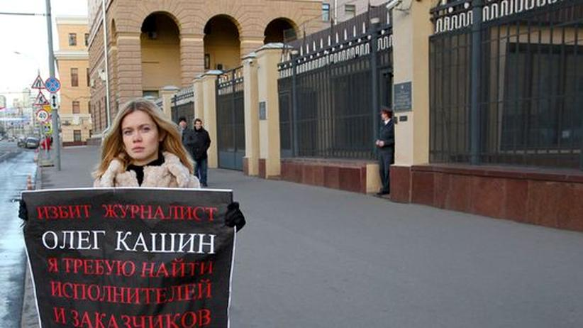 Moskau: Erneut Journalist brutal zusammengeschlagen