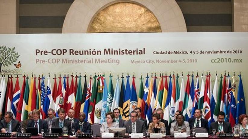 Vorbereitungskonferenz für Cancun in Mexiko Stadt, Anfang November