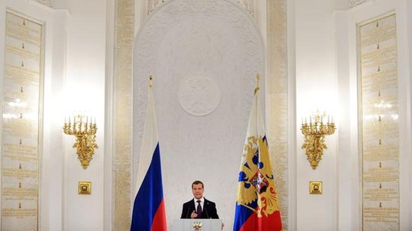 Russland: Medwedjew beschwört das Ideal der Großfamilie
