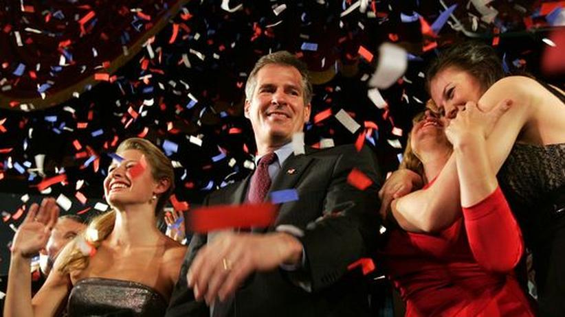 US-Wahlen: Republikaner feiern den Wahlsieg