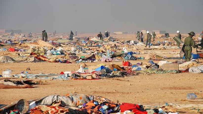 Wüstenkonflikt: Marokko stürmt Protestlager in der Westsahara