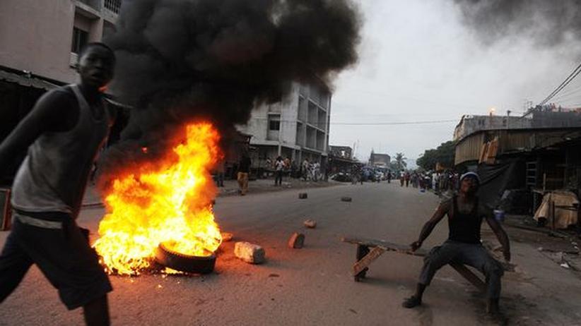 Präsidentschaftswahl: Unruhen an der Elfenbeinküste