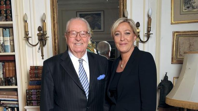 Erbfolge: Jean-Marie Le Pen und Tochter Marine