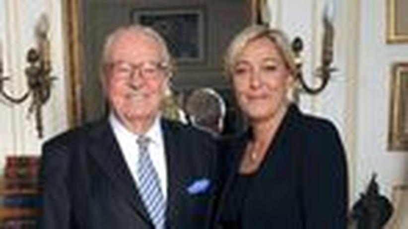 Marine Le Pen: Des Alten blonde Tochter
