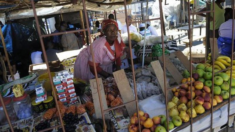 Markt in Maseru in Lesotho