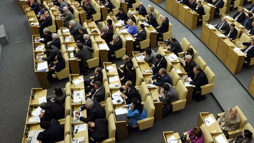 Abrüstung: Russlands Parlament nimmt Abrüstungsvertrag an