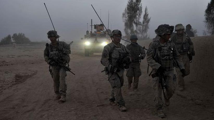 Afghanistan: US-Soldaten in Zari in der Provinz Kandahar