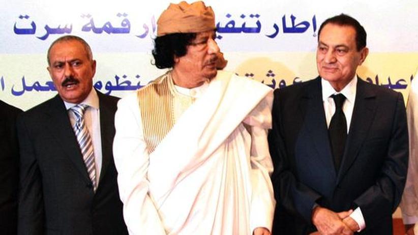 Saleh Gadhafi Mubarak
