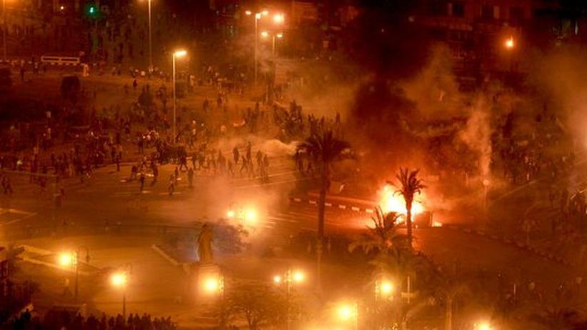 Aufstand: Die Gewalt in Ägypten nimmt zu