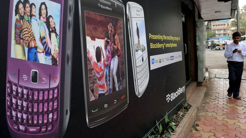 Indien: BlackBerry-Hersteller akzeptiert Überwachung