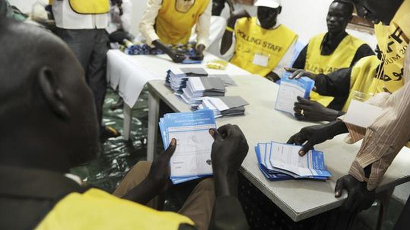 Unabhängigkeit: Referendum im Südsudan friedlich beendet