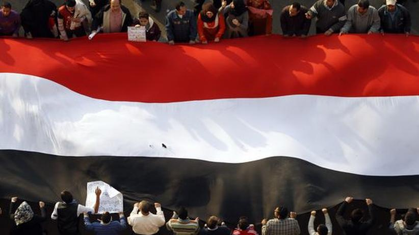 Unruhen: EU fordert raschen Wandel in Ägypten