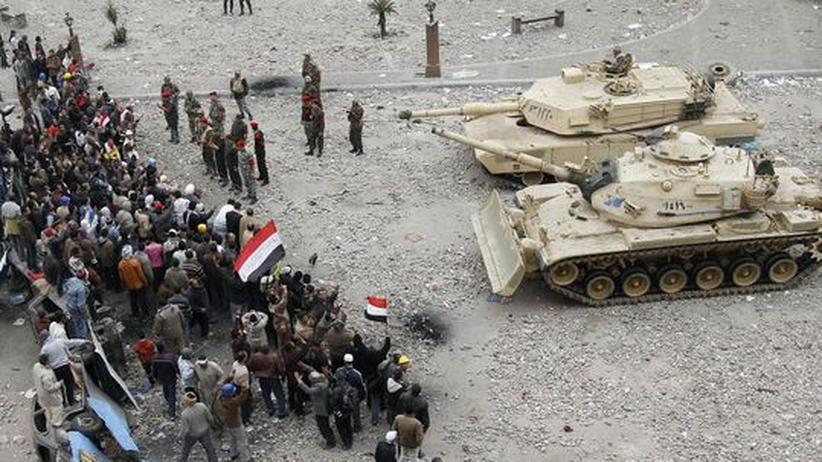 Tahrir-Platz: Armee verhandelt mit Demonstranten
