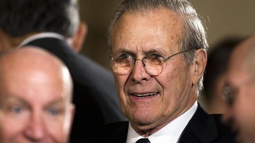 Memoiren: Rumsfeld rechnet mit Schröder ab