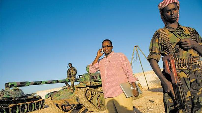 Mohamed Aden möchte in seiner Heimat Somalia Präsident werden