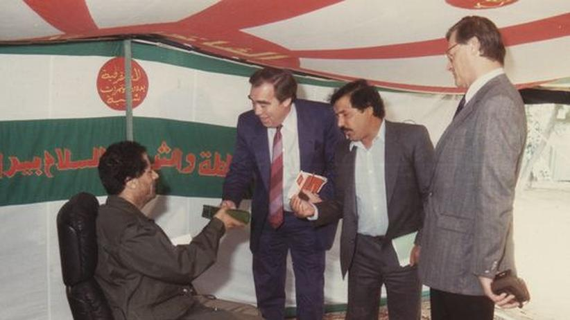 Libyen: Als wir Muammar al-Gadhafi trafen
