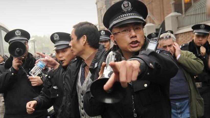 Jasmin-Proteste: China rechtfertigt Polizeieinsatz gegen Ausländer