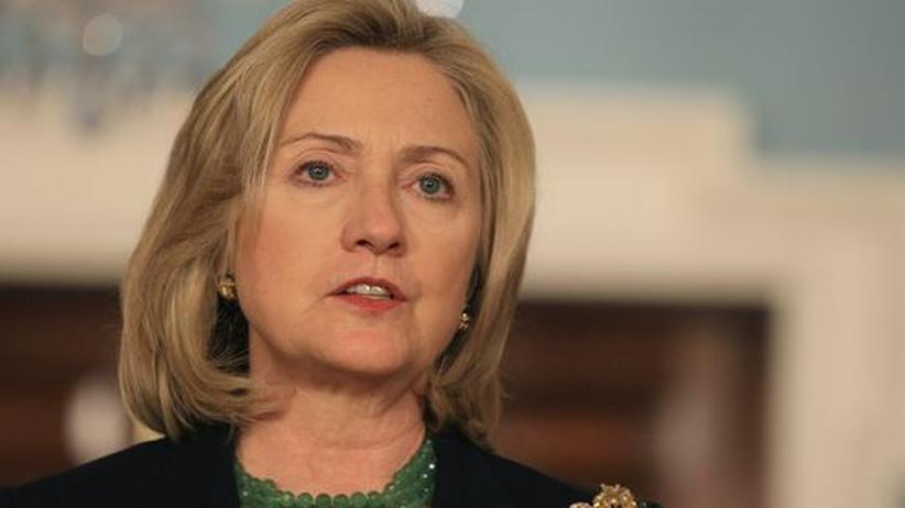 Libyen-Einsatz: Die amerikanische Außenministerin Hillary Clinton