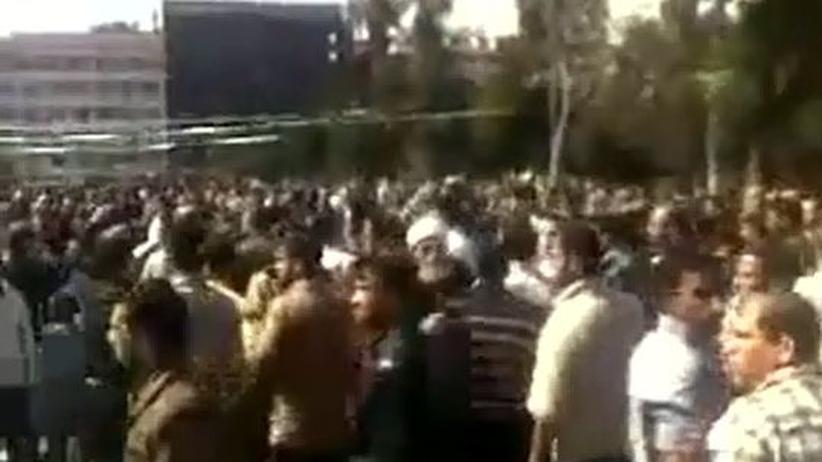 Unruhen: Trauerfeier in Syrien schlägt in Proteste um