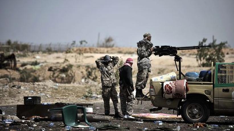 Libyen: Gadhafis Truppen auf dem Vormarsch Richtung Osten