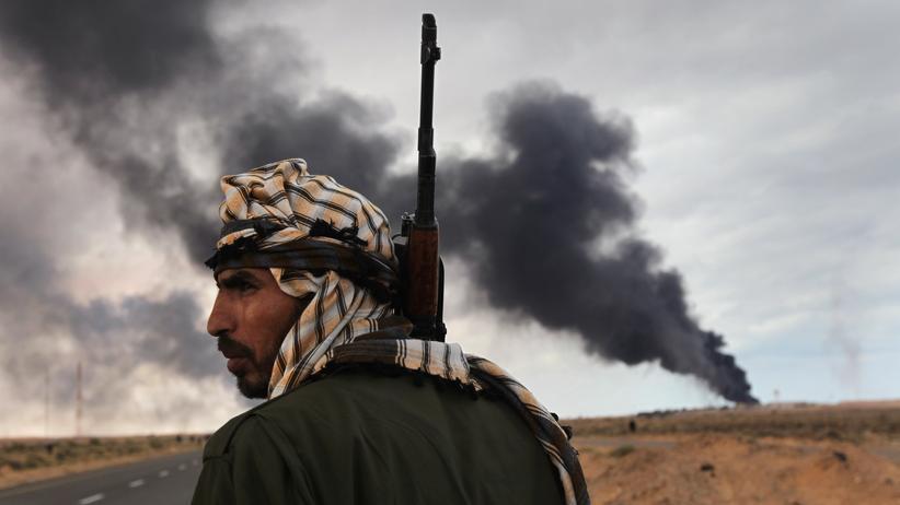 Bürgerkrieg in Libyen: Die Rebellen sind Verlorene in der Wüste