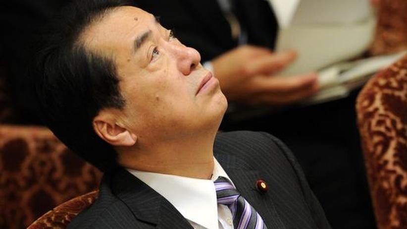 Japans Premierminister Naoto Kan