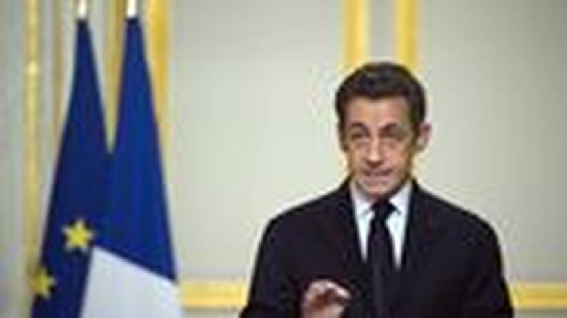 Militäreinsatz: Sarkozy, Feldherr gegen Gadhafi