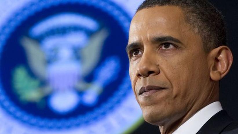 Libyen-Einsatz: US-Präsident Obama in Washington, wo er seine Rede zum Libyen-Einsatz gehalten hat