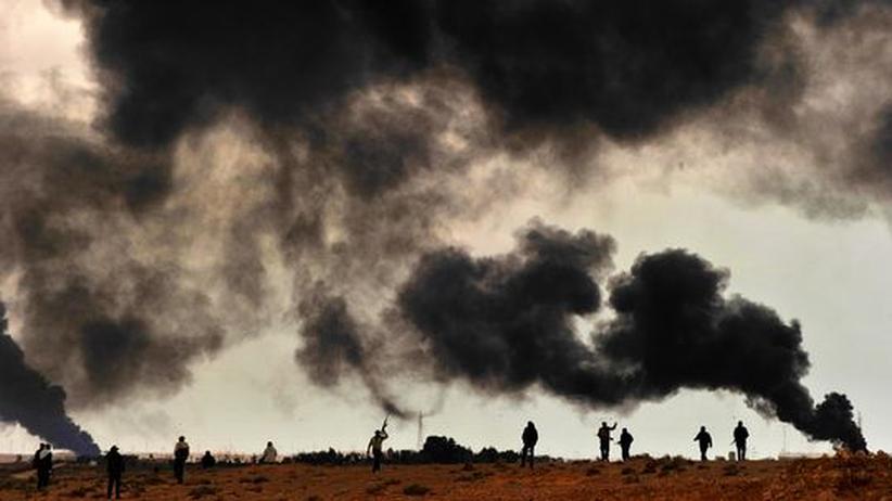 Bürgerkrieg: Gadhafis Truppen sind auf dem Vormarsch
