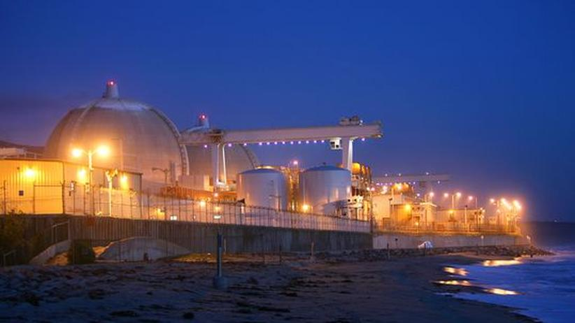 Das Kernkraft San Onofre in Kalifornien
