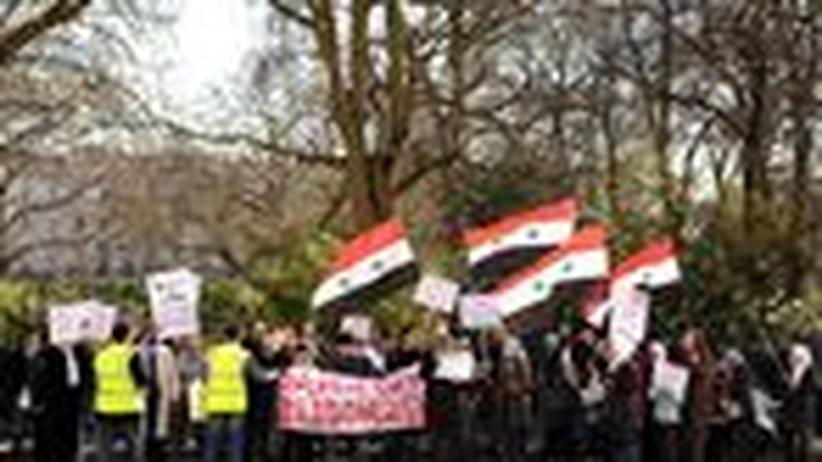 Arabische Protestwelle: Syriens Regime lässt auf Demonstranten feuern