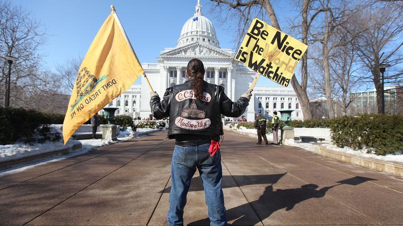 USA: Tea Party für Linke