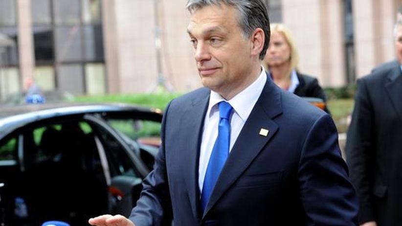 Ungarns Ministerpräsident Viktor Orbán in Brüssel