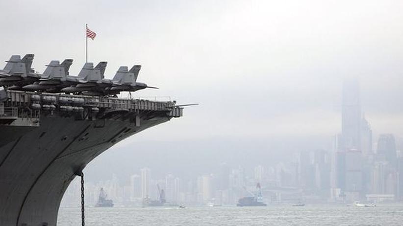 China und USA: Schachpartie auf dem Meer