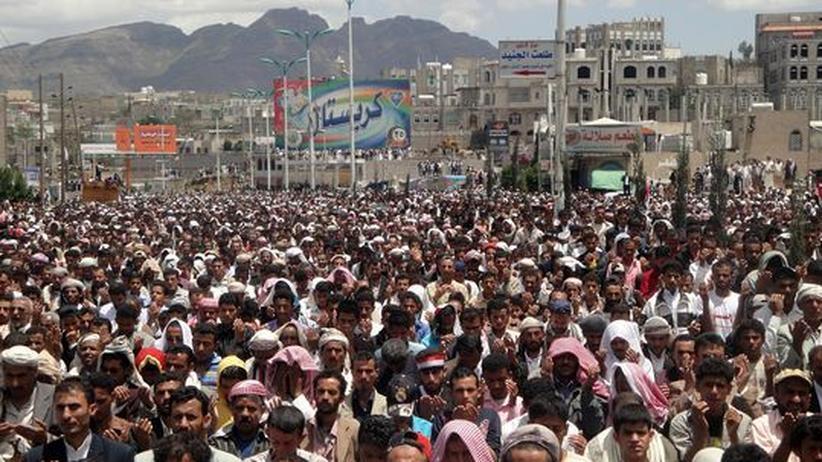 Jemen: Massendemonstrationen gegen Präsident Salih