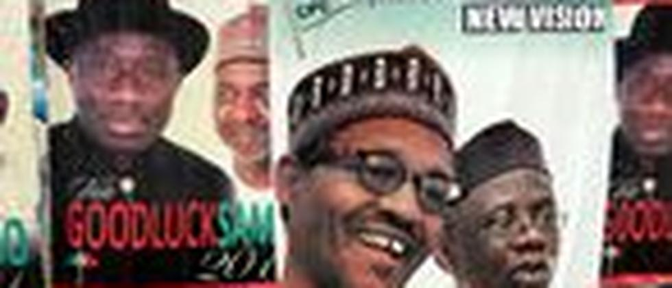 Wahlkampfplakate in Kaduna/Nigeria