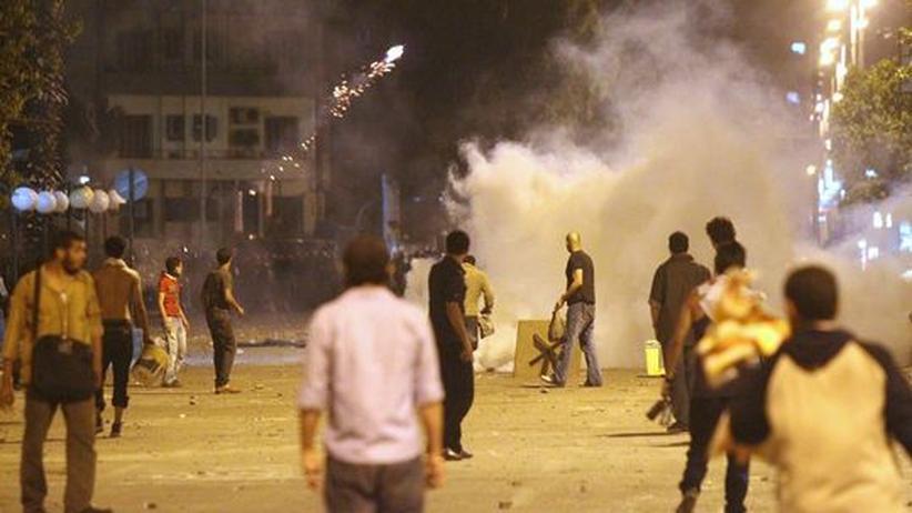 Staatsgründung Israels: Krawalle vor Israels Botschaft in Kairo