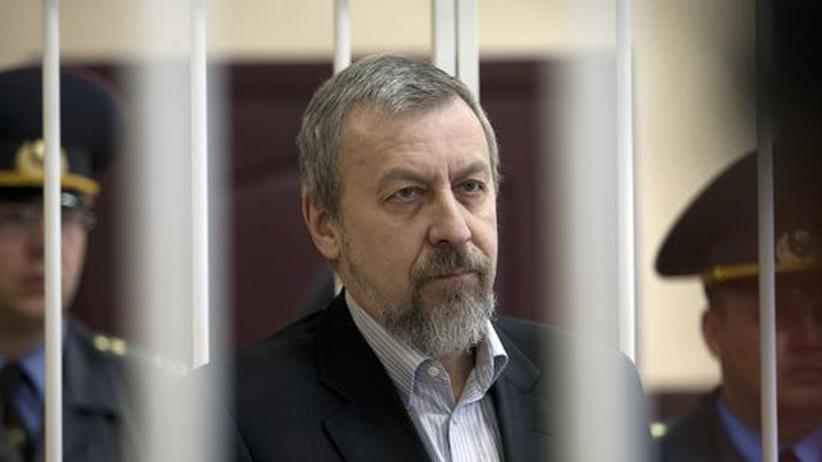 Haftstrafe: Lukaschenkos Justiz schickt Oppositionsführer ins Straflager