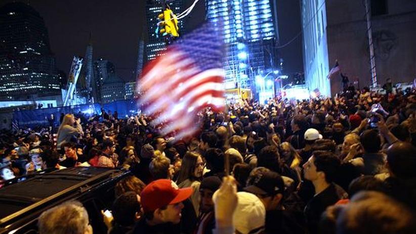 Bin Ladens Tod: New York feiert gegen sein Trauma