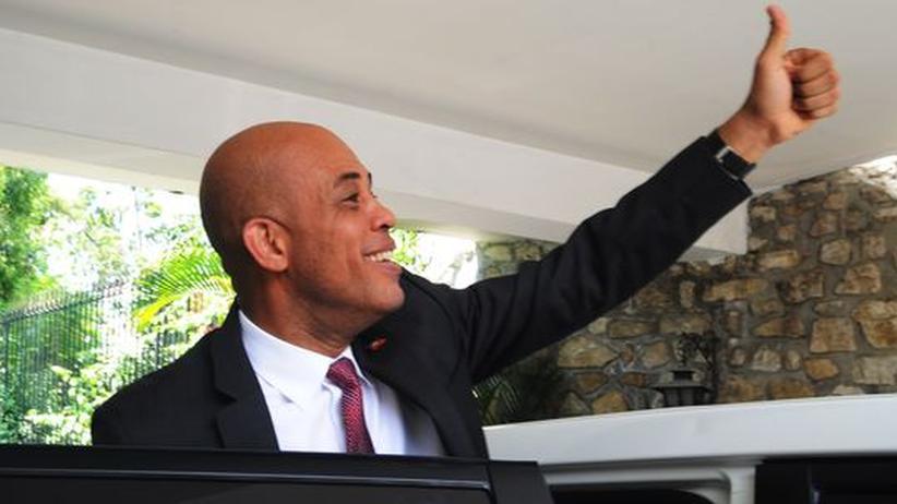 Haiti: Ein Politikneuling soll Haiti wiederaufbauen