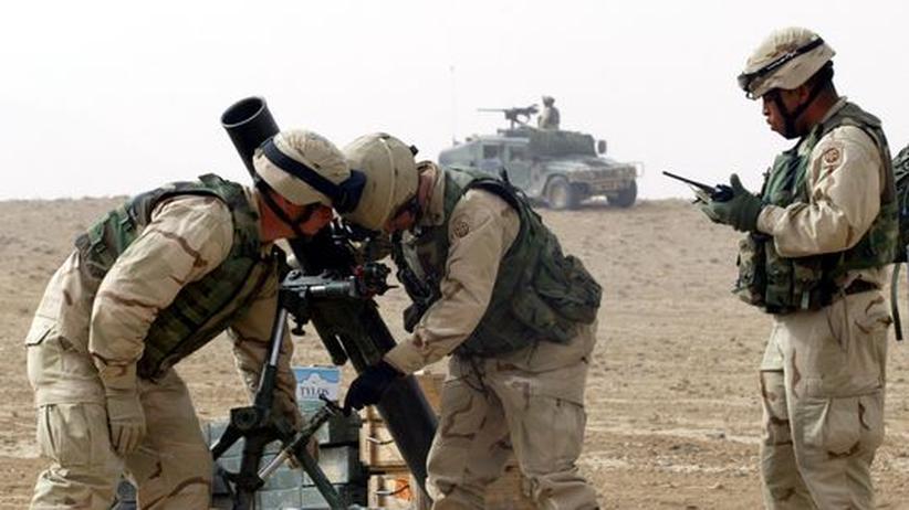 Jagd auf bin Laden: Die 82nd Air Borne Division der US-Armee im Kampf gegen Extremisten (Bild von 2003)