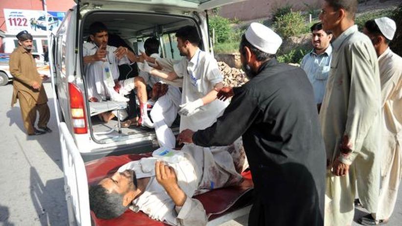 Doppelanschlag in Pakistan: Taliban nehmen Rache für Bin-Laden-Tötung